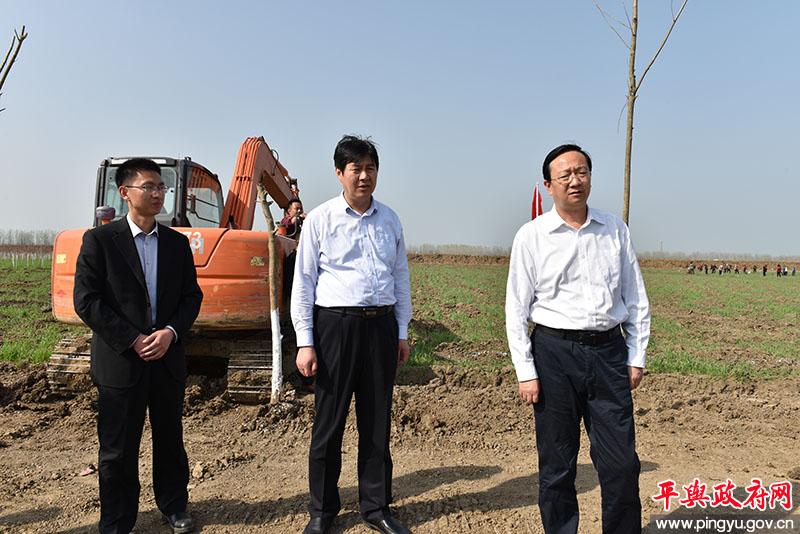 平舆县委副书记、县长赵峰深入部分乡镇调研指导创森工作