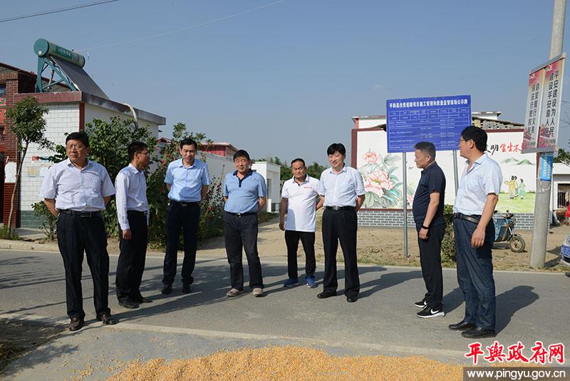 省公路局副局长朱永亮带队调研我县农村公路建设情况