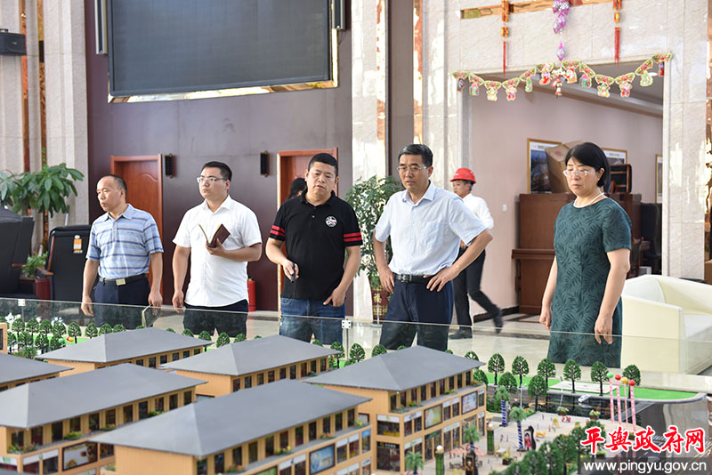 平舆县委书记张怀德就全国县级文明城市创建工作进行督导检查