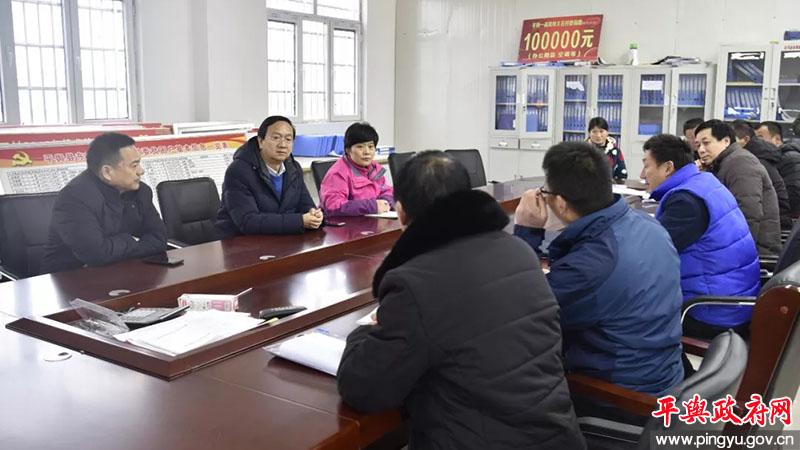 威尼斯网址:委副书记、县长赵峰到东和店镇调研指导脱贫攻坚工作