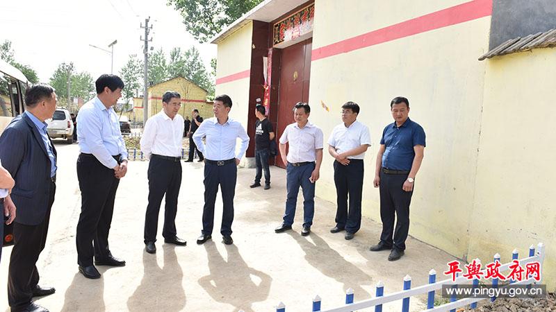副市长刘晓文到平舆县调研农村厕所改造工作