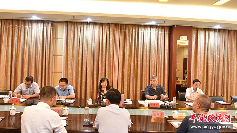 中山大学调研组到平舆县调研现代农业发展情况