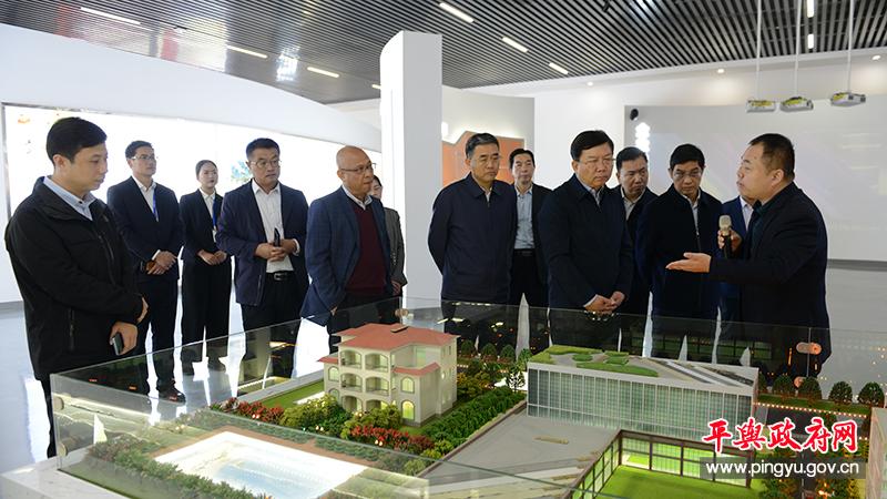 省人社厅厅长、党组书记、省委组织部副部长刘世伟到平舆县调研