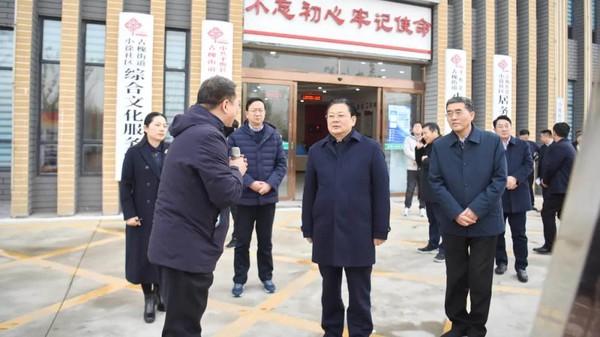 市委副书记、市长朱是西到平舆县古槐街道人大代表联络站开展联系人民群众主题活动