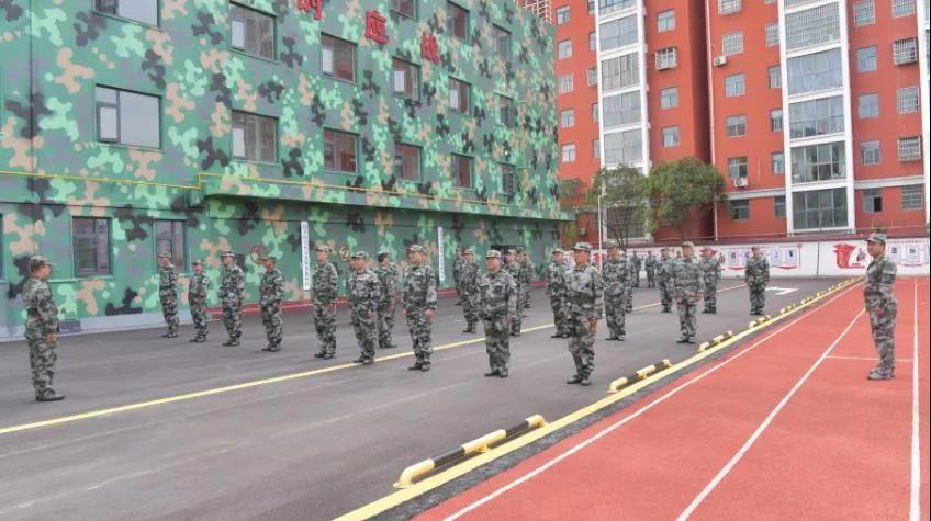 平舆县2021年基干民兵轮训备勤动员会召开