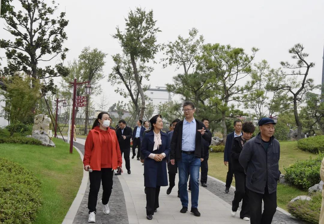 邓州市考察团到平舆县考察学习创文创卫工作